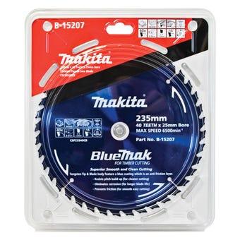 Makita BlueMak TCT Saw Blade 235 x 25mm x 40T