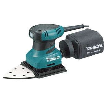 Makita 200W Triangular Extended Finishing Sander 219mm