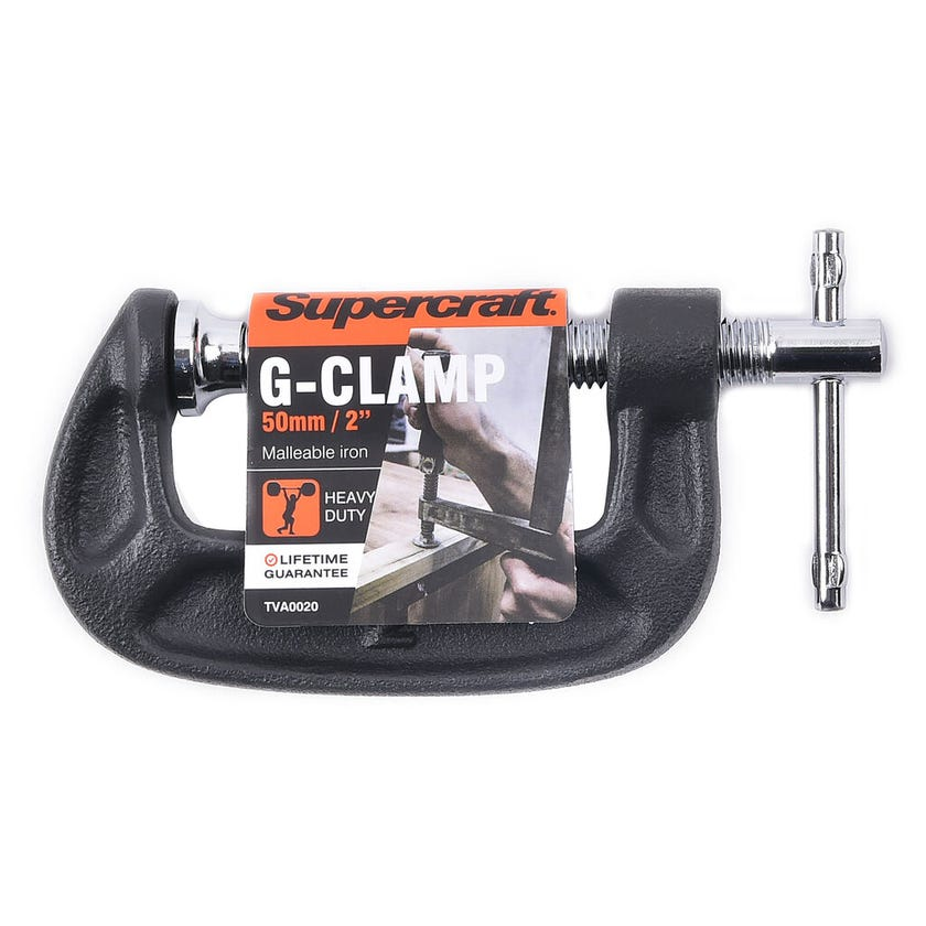 Supercraft G Clamp 50mm
