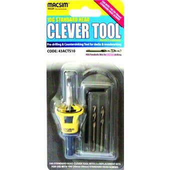 Macsim Clever Tool Standard Head Pre-Drill 10G 30-50mm