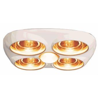 HPM Instant Heat 4 Lamp & Fan Ceramic Lampholder