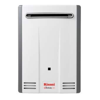 Rinnai Infinity Continuous Flow Hot Water System NG 50 Deg 20L