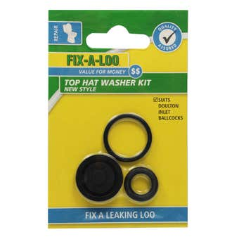 FIX-A-LOO Top Hat Washer Kit