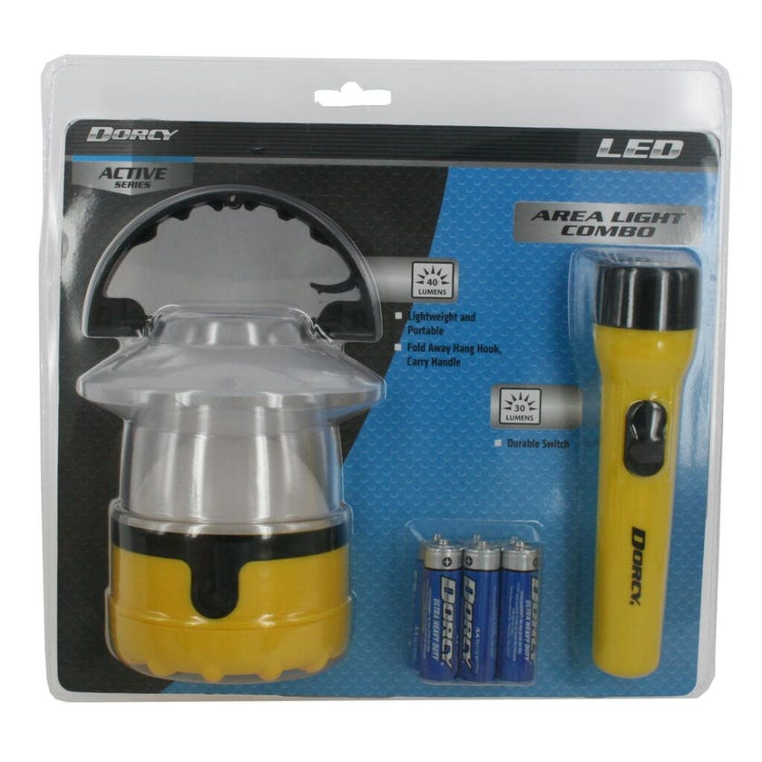 Dorcy Torch and Lantern Pack