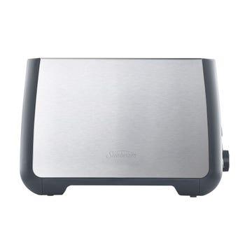 Sunbeam Long Slot 2 Slice Toaster Stainless Steel