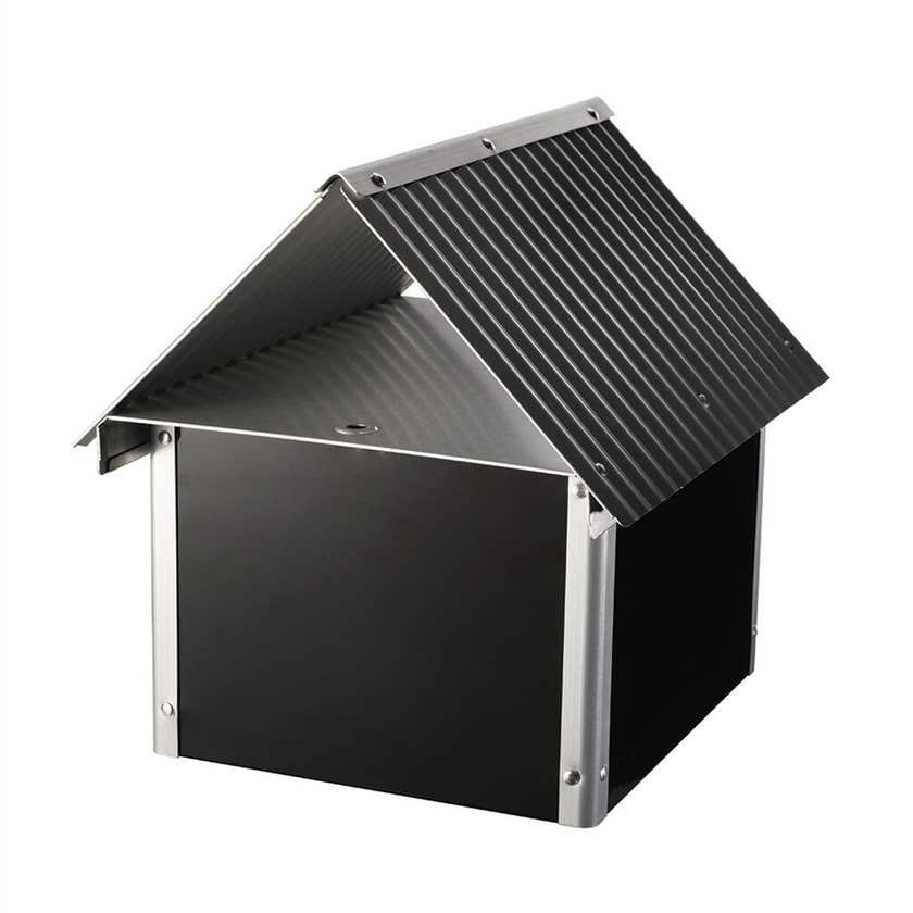 Sandleford Seaford Letterbox Black