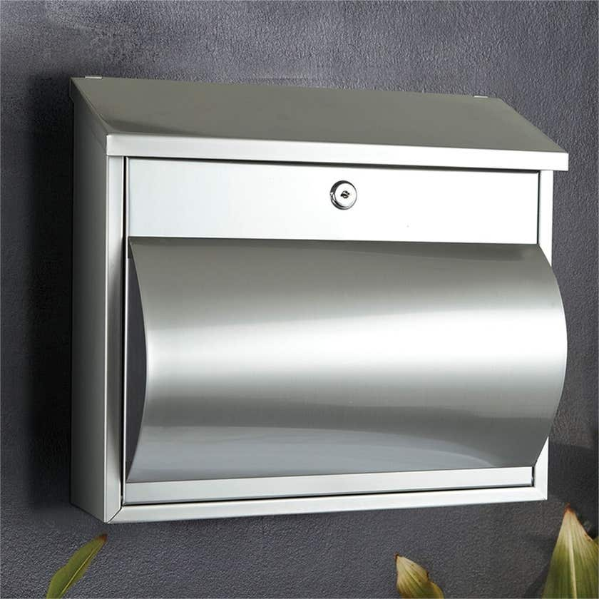 Sandleford Comet Letterbox Stainless Steel