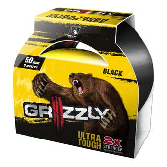 Bear Grizzly Gaffer Tape 50mm x 9m