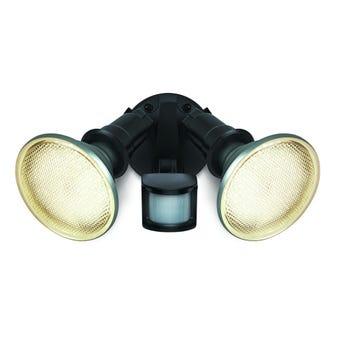 HPM Twin LED Hard Wired Sensor Light