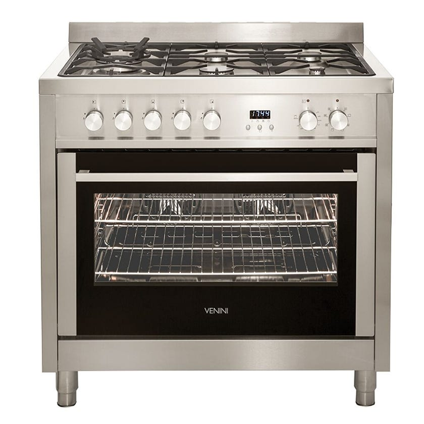 Venini Freestanding Dual Oven Stainless Steel 900m