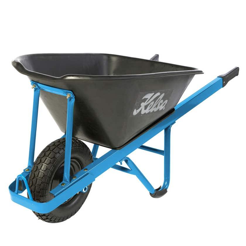 Kelso Heavy Trade Poly Tray Wheelbarrow 100L