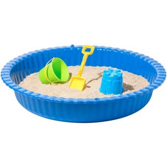 Round Plastic Sand Pit