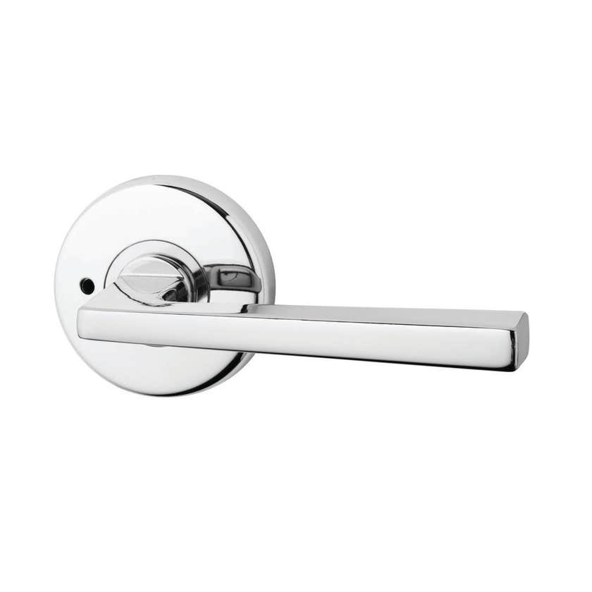 Lockwood Velocity Hakea Lever 28 Privacy 63mm Chrome Plate