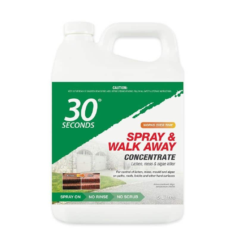 30 Seconds Spray & Walk Away Cleaner 5L