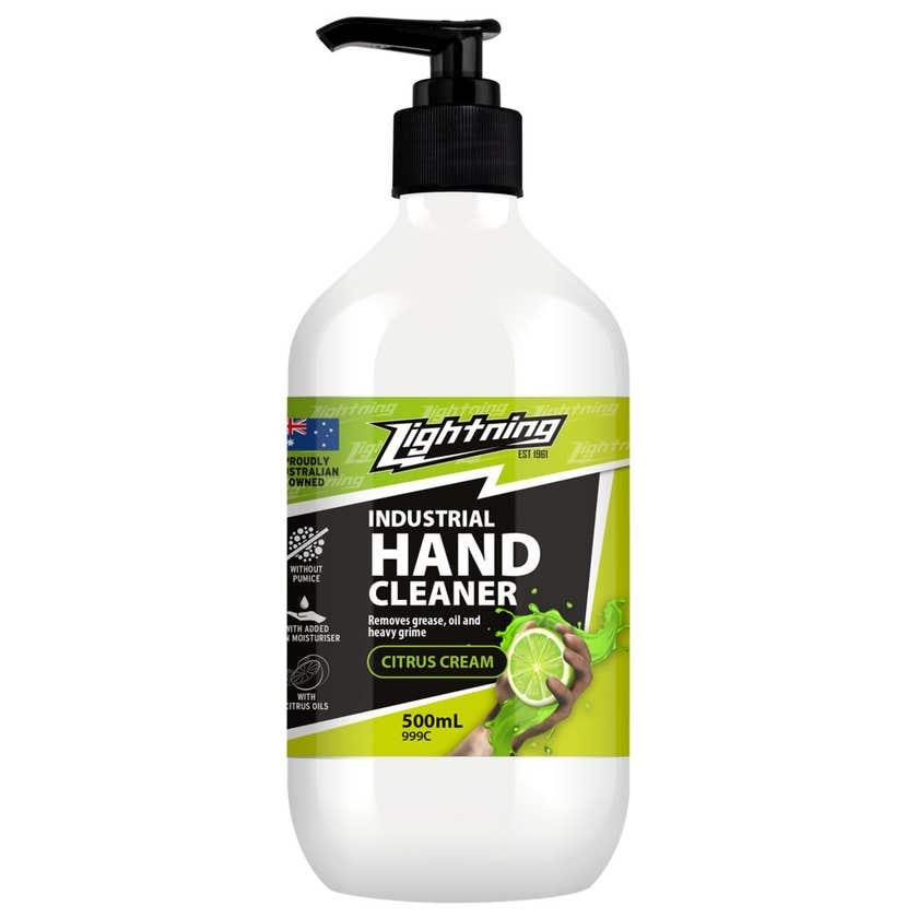 Lightning Citrus Cream Hand Cleaner 500ml