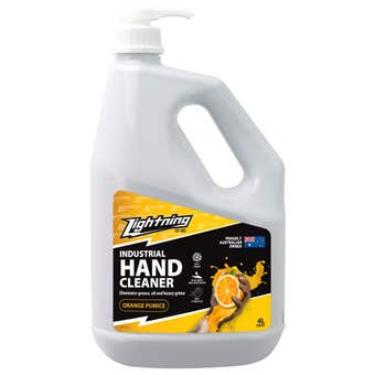 Lightning Orange Pumice Hand Cleaner 4L