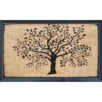 Coir Tree Outdoor Mat