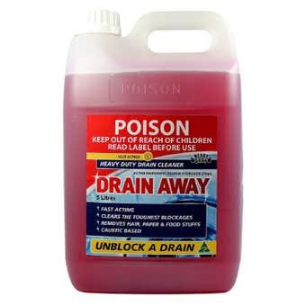 BOSTON Drain Away Heavy Duty Drain Cleaner 5L