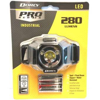 Dorcy Industrial Headlamp 280 Lumen