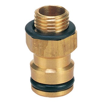 Neta Brass Spray Adaptor 1/4 inch x 12mm
