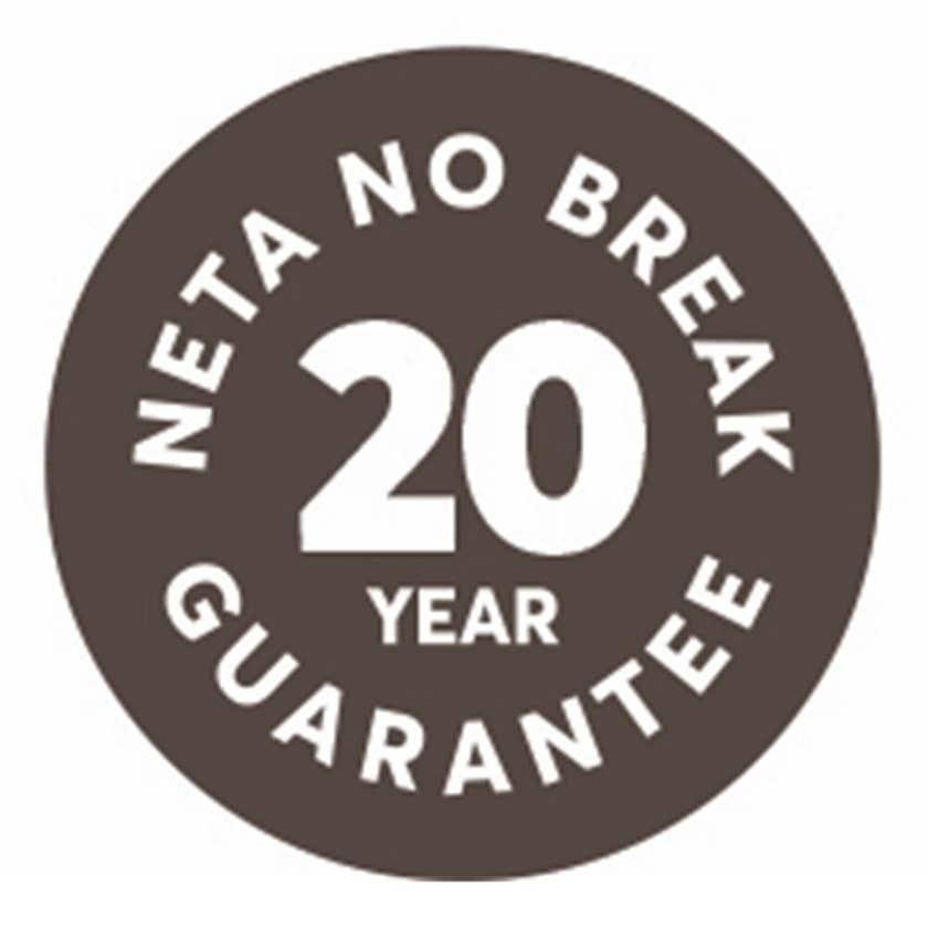 Neta Brass 2-End Hose Coupler 18mm