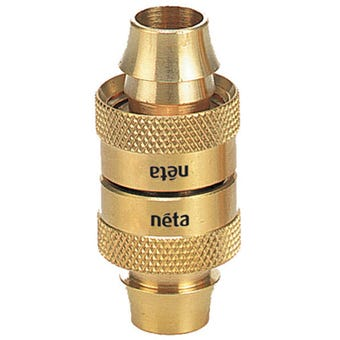 Neta Brass Screw Hose Joiner 12mm