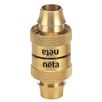 Neta Brass Screw Hose Joiner 18mm