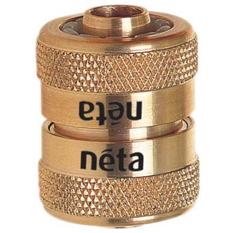 Neta 12mm Hose Joiner EZ - Brass