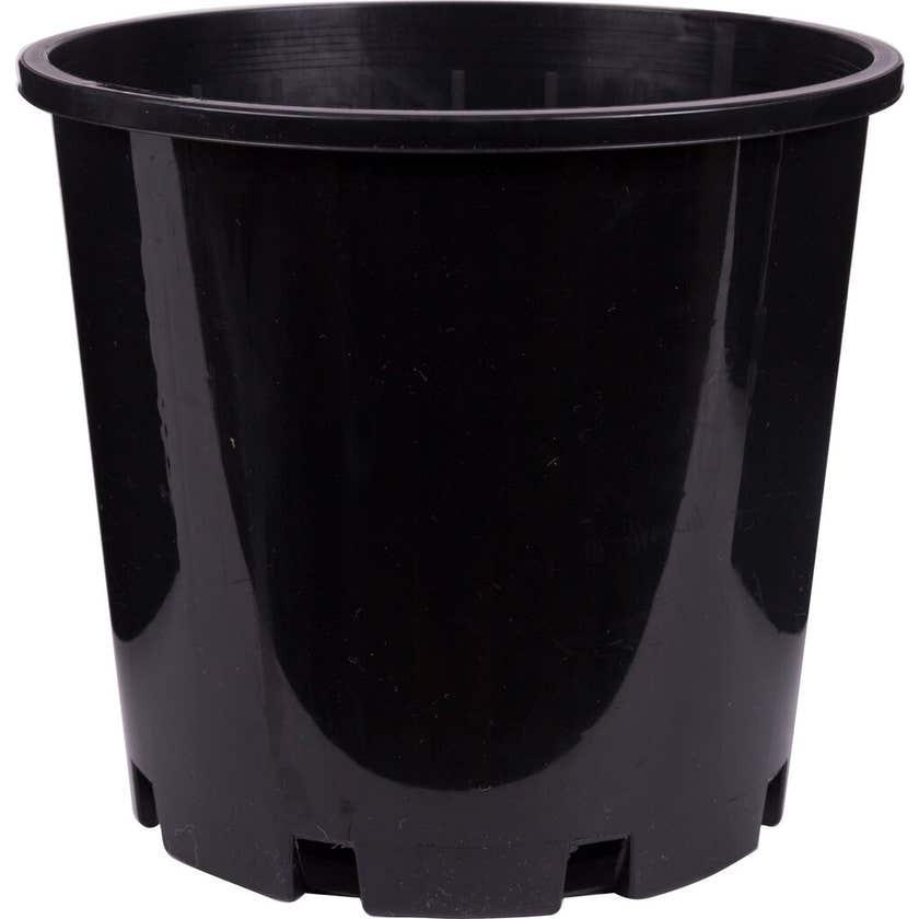Décor Growers Pot Black 200mm