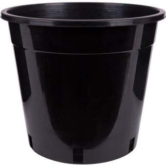 Décor Growers Pot Black 250mm