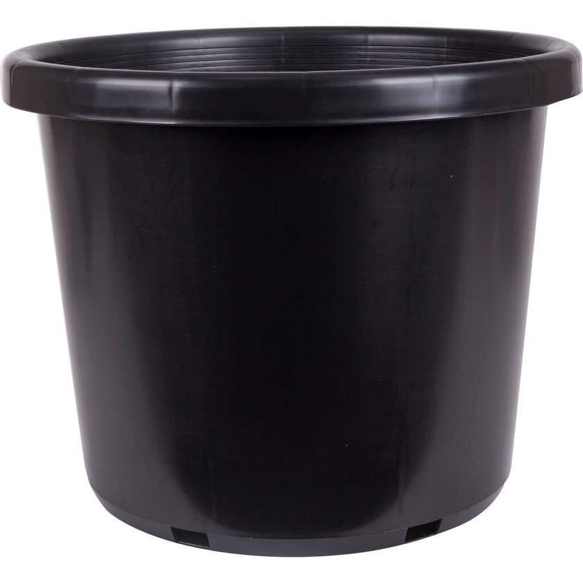 Décor Growers Pot Black 500mm