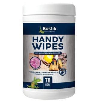 Bostik Handy Wipes 70 Pack