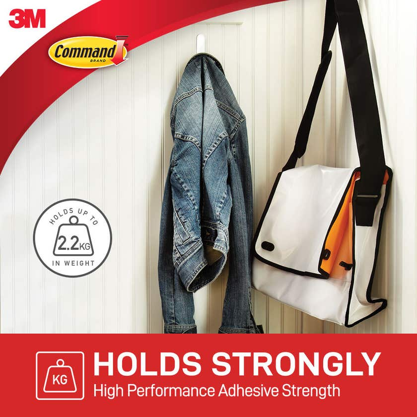 Command Hook Large - 3 Pack
