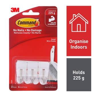 Command Utensil Hooks - 3 Pack
