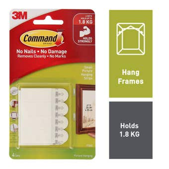 Command Picture Hanging Strips Small - 4 Pack