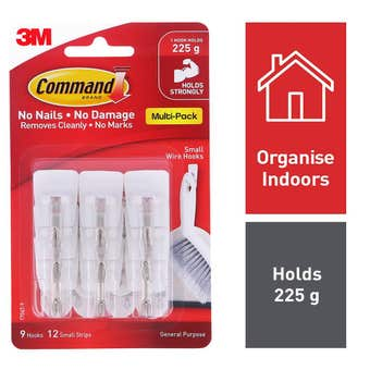Command Wire Tip Hook Small - 9 Pack