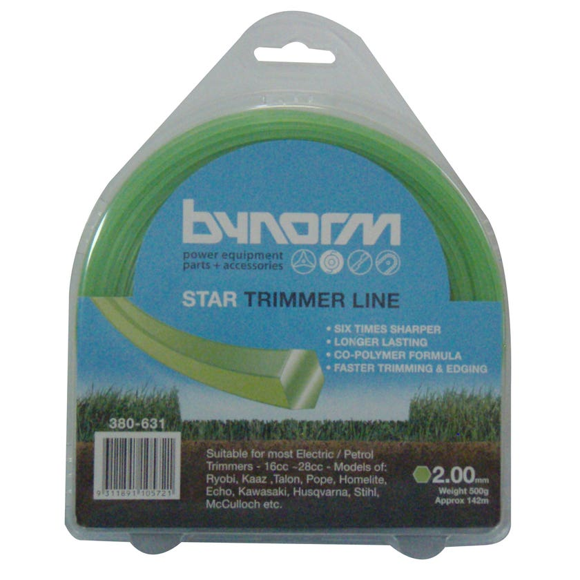Bynorm Trimmer Line Green 2.00mm X 500g