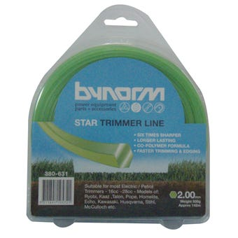 Bynorm 2.00mm x 140m Trimmer Line Green