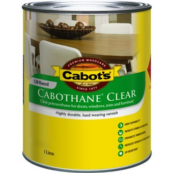 Cabot's Cabothane Oil Based Matt Clear 1L