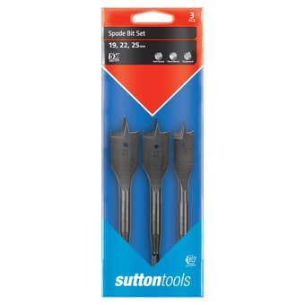 Sutton Tools Spade Bit Set - 3 Piece
