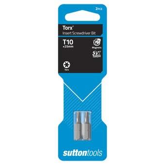 Sutton Tools Screwdriver Bit Torx 25mm - 2 Pack