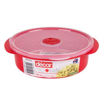 Decor Microsafe Round Container 750ml