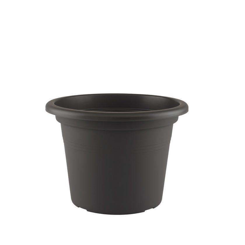 Artevasi Cilindro Pot Black 25cm