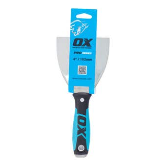OX Tools Plaster Joint Knife Stainless Steel Blade