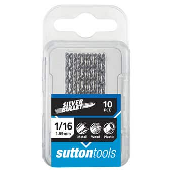 Sutton Tools Silver Bullet Jobber Drill Bit Pack Imperial