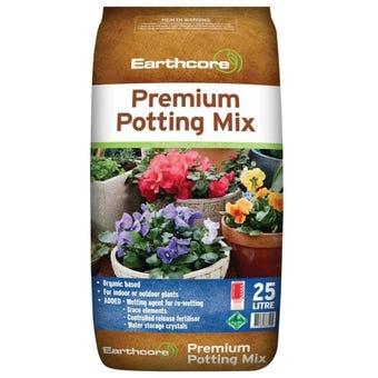Earthcore Premium Potting Mix 25L