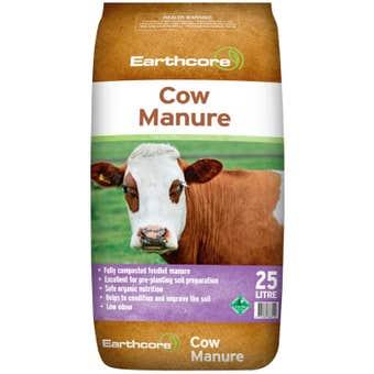 Earthcore Cow Manure 25L