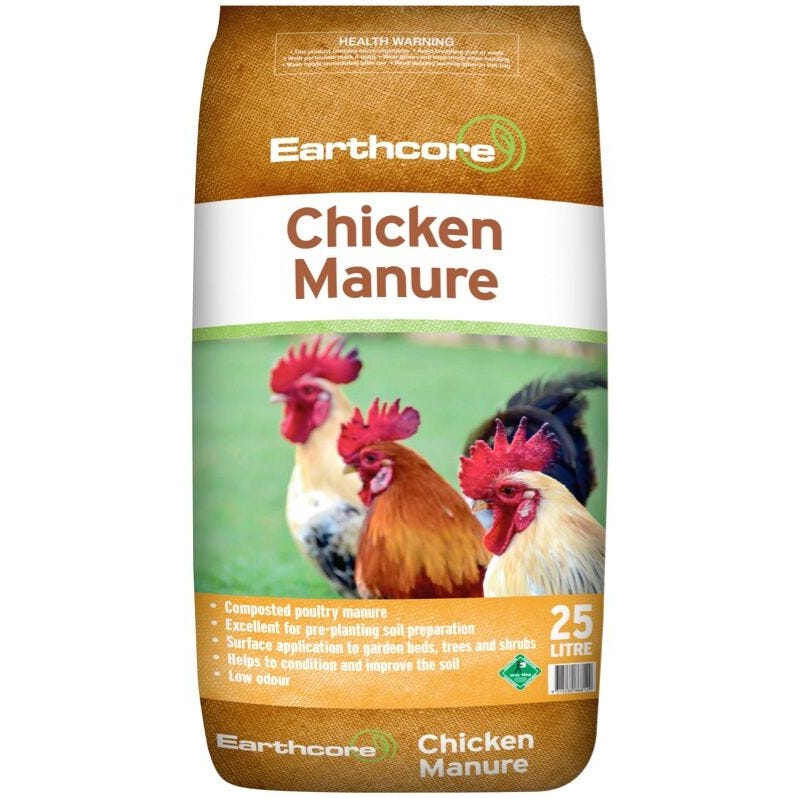 Earthcore Chicken Manure 25L