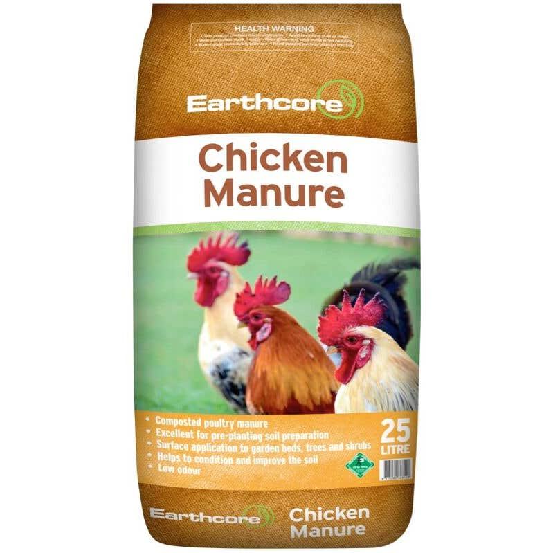 Earthcore Chicken Manure 25L