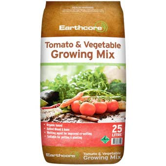Earthcore Tomato & Vegetable Growing Mix 25L